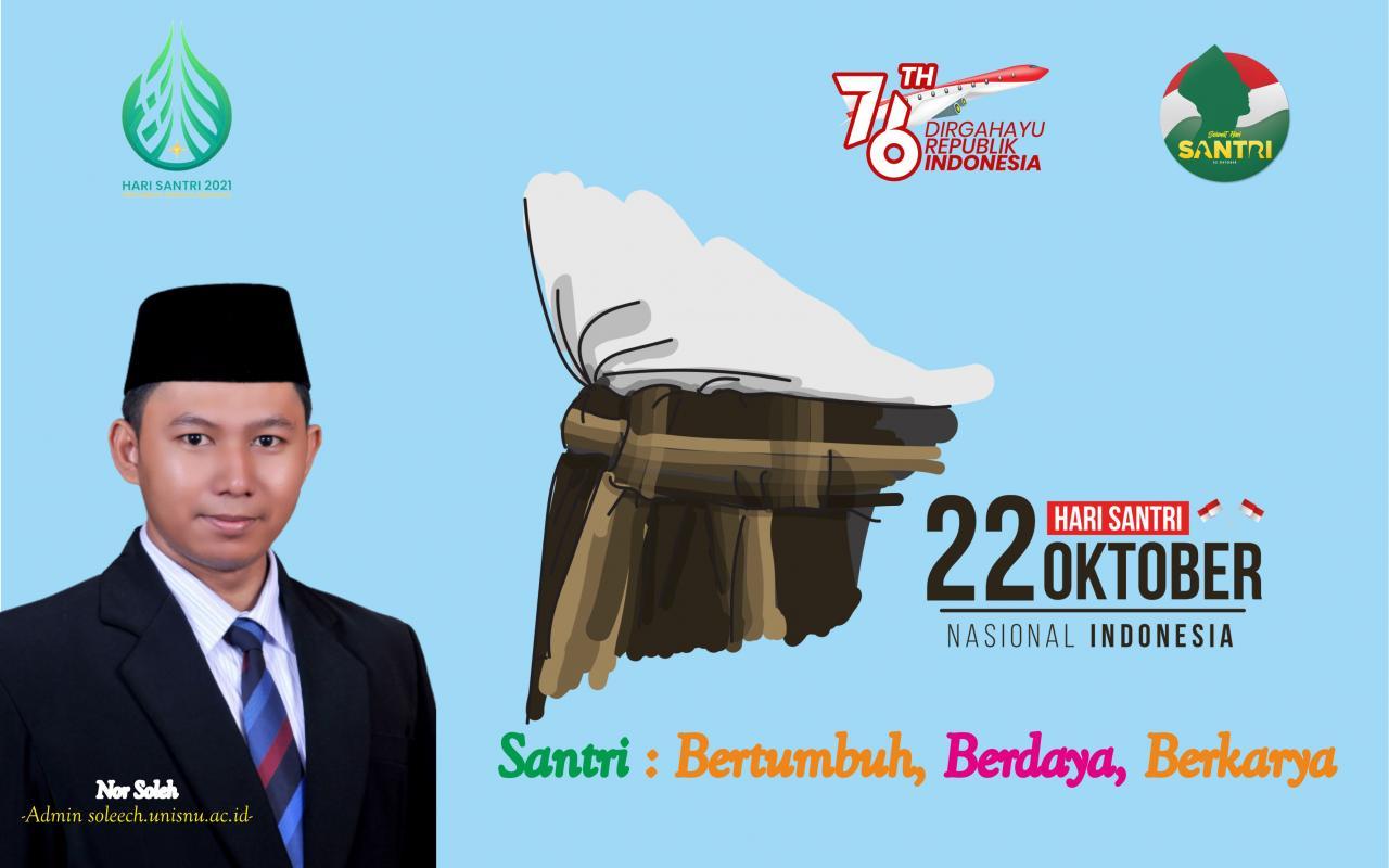 Selamat Hari Santri Nasional 22 Oktober 2021